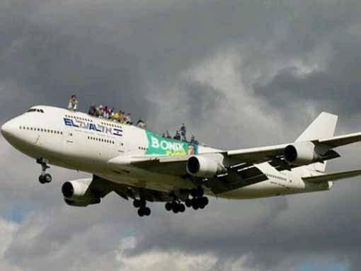 bonek pesawat